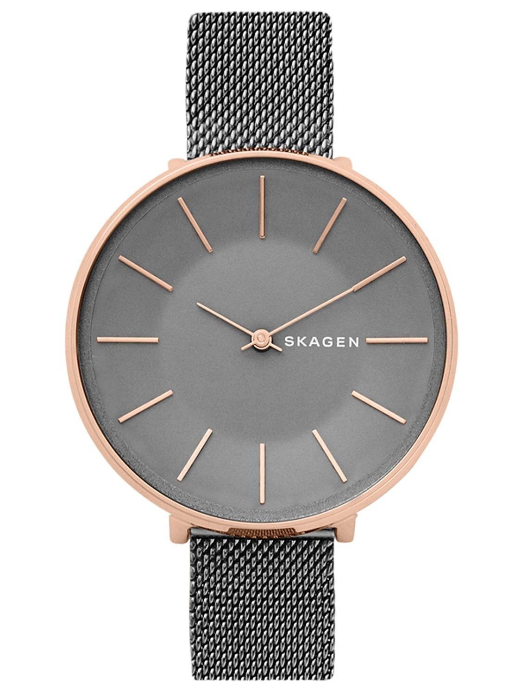 Skagen Women's Karolina Grey Dial Grey Stainless Steel Watch SKW2689