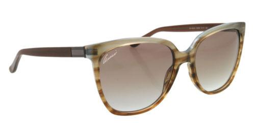 76457991ab0 Gucci Women s Cat Eye Full Rim Brown Azure Havana Sunglasses GG 3502 S  R4E NE