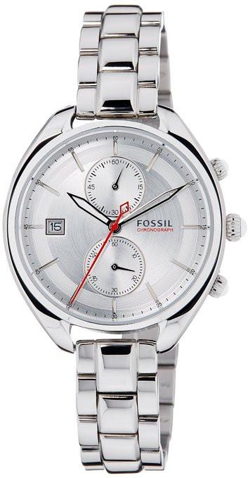 Fossil Women's CH2975 Land Racer Silver Stainless-Steel Quartz Watch