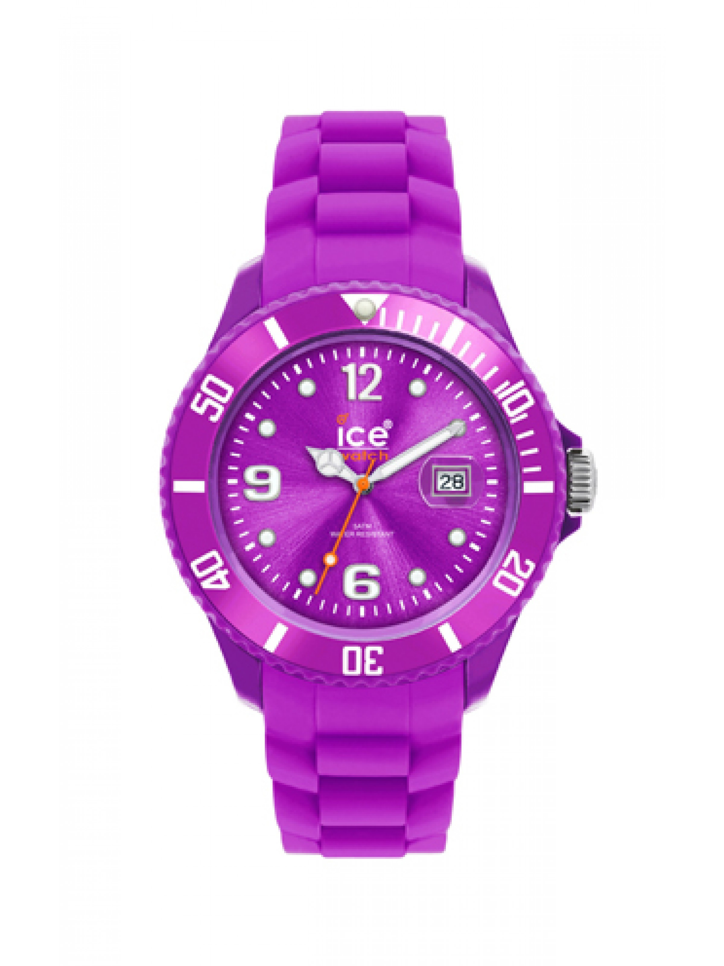 Ice Watch Unisex Purple Dial Purple Silicone Watch SI.PE.B.S.09