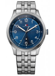 Tommy Hilfiger Men's Stainless Steel Royal Blue Dial Watch 1710308