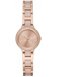 Michael Kors Taryn Women's Rose Gold Dial Rose Gold Stainless Steel Watch MK6582