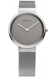 Bering Women's Classic Grey Dial Stainless Steel Mesh Watch 14531-077