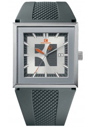 Hugo Boss Orange Men's Grey Dial Grey Silicone Watch 1512703