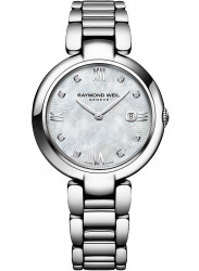 Raymond Weil Women's Shine Mother Of Pearl Diamond Dial Watch 1600-ST-00995