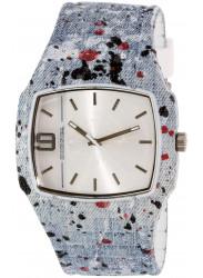 Diesel Men's Trojan Blue Silicone Watch DZ1685