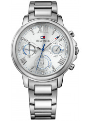 Tommy Hilfiger Women's Claudia Silver Dial Stainless Steel Watch 1781741