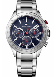 Tommy Hilfiger Men's Hudson Chronograph Blue Dial Watch 1791228