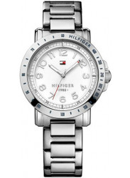 Tommy Hilfiger Women's White Dial Stainless Steel Watch 1781397