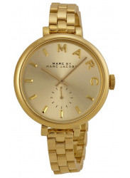 Marc by Marc Jacobs Women's Sally Champagne Dial Gold Tone Stainless Steel Watch MBM3363