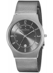 Skagen Men's Titanium Grey Dial Watch 233XLTTM