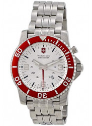 Victorinox Maverick Swiss Army Men's GMT Stainless Stell Watch 24141