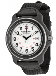 Victorinox Swiss Army Original XL  White Dial Black Nylon Strap Watch 249086