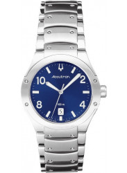 Bulova Accutron Men's Blue Dial Stainless Steel Watch 26B28