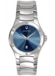 Bulova Accutron Men's Blue Dial Stainless Steel Watch 26B78