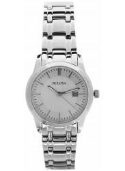 Bulova Women's Silver Dial Stainless Steel Watch 96M130