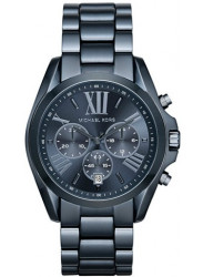 Michael Kors Unisex Bradshaw Chronograph Blue Dial Oversized Watch MK6248