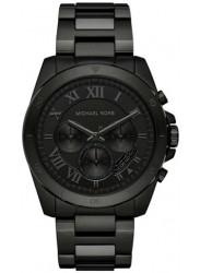 Michael Kors Men's Brecken Chronograph Black Dial Watch MK8482