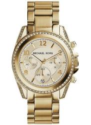 Michael Kors Women's Blair Gold Dial Gold Tone Watch MK5166