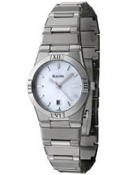 Bulova Women's Windemere Mother of Pearl Dial Watch 96M100