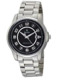 Bulova Men's Precisionist Black Dial Watch 96B129