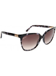 ff89fa98f6f Gucci Women s Cat Eye Full Rim Blue Havana Sunglasses GG 3502 S WQW K8