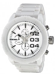 Diesel Men's White Dial White Ceramic Watch DZ4220