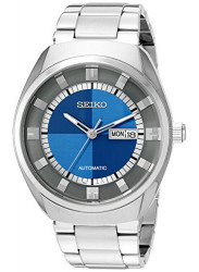 Seiko Men's Recraft Blue Dial Automatic Watch SNKN73