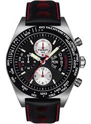 Tissot Men's T-Sport PRS516 Automatic Chronograph Black Leather Watch T021.414.26.051.00