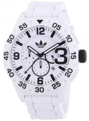 Adidas Men's Newburgh Chronograph White Silicone Watch ADH2860