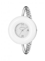 Marc By Marc Jacobs  MBM3396 Donut White Dial Bangle Ladies Watch