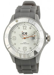 Ice Watch Men's Silicone Grey Dial Watch SI.SR.B.S.09