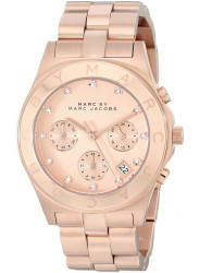 Marc Jacobs Classic MBM3102 Women's Wrist Watches, Gold Dial