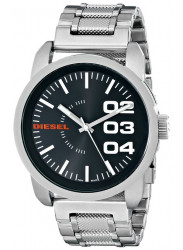 Diesel Men's Black Dial Stainless Steel Watch DZ1370