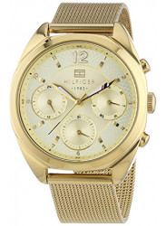 Tommy Hilfiger Women's Gold Tone Gold Dial Watch 1781488