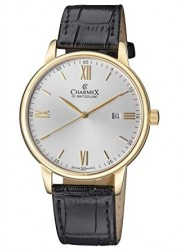 Charmex Amalfi Silver Tone Dial Stainless Steel Men's Watch CX-3025