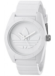 Adidas Men's Santiago White Rubber Watch ADH2711