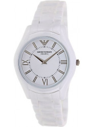 Emporio Armani Women's Ceramica White Ceramic Watch AR1443