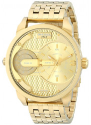 Diesel Men's Mini Daddy Gold Tone Watch DZ7306