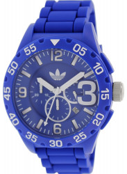 Adidas Men's Newburgh Chronograph Blue Silicone Watch ADH2794