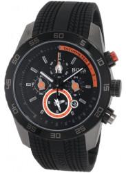 Hugo Boss Unisex Black Dial Rubber Watch 1512662