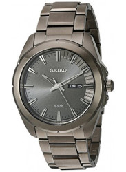 Seiko Men's Recraft Black Dial Watch SNE419
