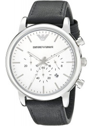 Emporio Armani Men's AR1807 Classic Analog Display Analog Quartz Black Watch