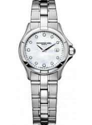Raymond Weil Women's Parsifal Mother Of Pearl Diamond Dial Watch 9460-ST-97081