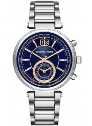Michael Kors Women's Sawyer Blue Dial Watch MK6224
