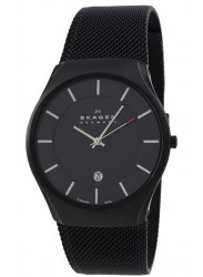 Skagen Men's Black Mesh Watch 956XLTBB