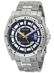 Bulova Men's Precisionist Blue Dial Watch 96B131