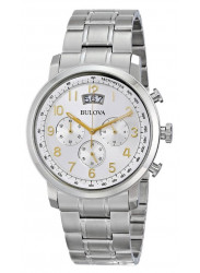 Bulova Men's Chronograph Stainless Steel 96B201