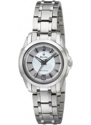 Bulova Women's Precisionist Mother Of Pearl Watch 96M108