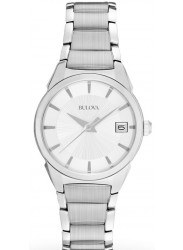 Bulova Women's Silver Dial Stainless Steel Watch 96M111